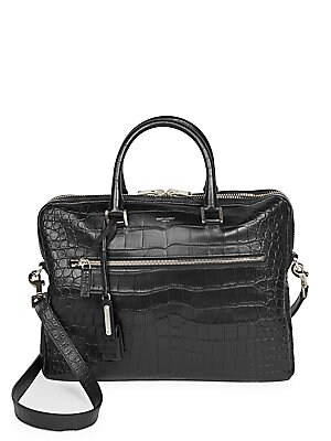 60702f62caa8 Polo Ralph Lauren - Pebbled Leather Duffle Bag - saks.com