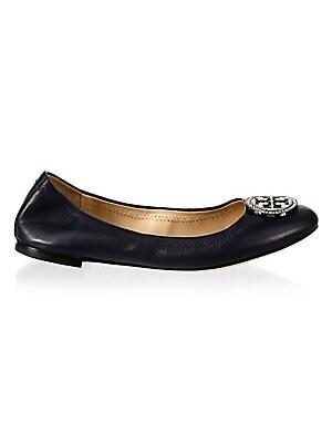 3c853a5d6 Tory Burch - Liana Leather Ballet Flats - saks.com