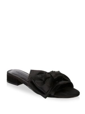Calista Satin Slides by Rebecca Minkoff