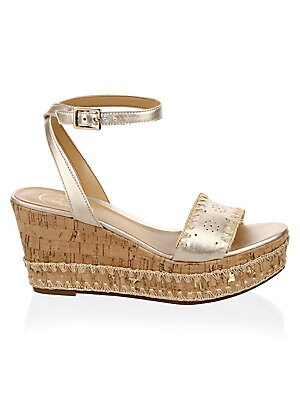 975ad737455f Jack Rogers - Lennon Leather Wedge Sandals - saks.com
