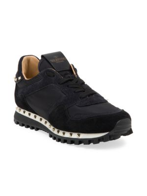 d4d72942 Women's Studded Suede Sneakers