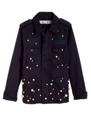 Pearl Snow Field Cotton Jacket
