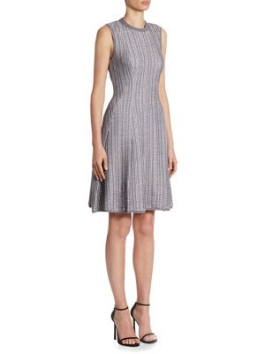 Ribbed Fit & Flare Dress by Victoria Beckham