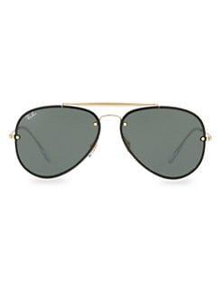 182912a7e095 QUICK VIEW. Ray-Ban. 61mm Iconic Aviator Sunglasses