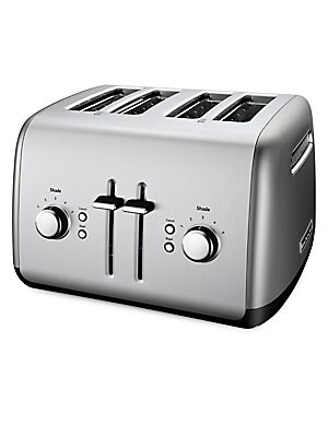 Image of 5-Shade Settings Under Base Cord Storage Stainless steel Spot clean Imported SPECIFICATIONS Model number: KMT4115OB WARNING: Cancer and Reproductive Harm - www. P65Warnings. ca.gov. Gifts - Kitchen > Saks Fifth Avenue. KitchenAid. Color: Contour Silver.