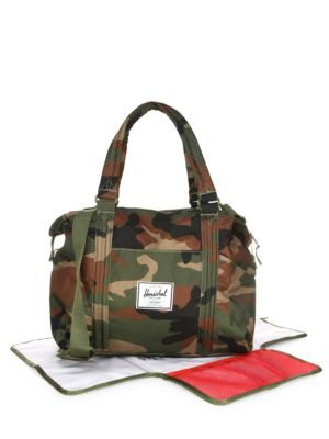 Strand Sprout Diaper Bag in Woodland Camo