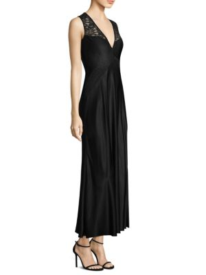 Lace Paneled Cocktail Dress by Donna Karan New York