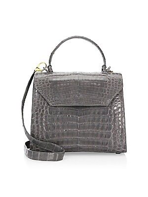 ab0099665401 Nancy Gonzalez - Lily Medium Top Handle Bag - saks.com