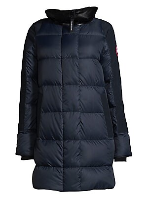 canada goose shelburne quilted parka