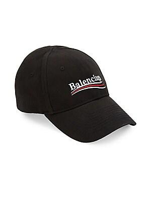 2d8e0c8d325 Balenciaga - Logo Baseball Cap - saks.com