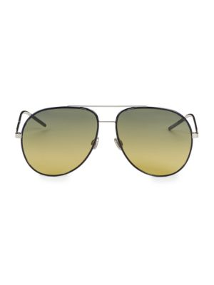 Astral 59Mm Aviator Sunglasses, Green