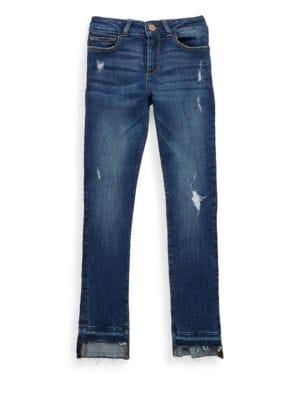 Girls Chloe Distressed Skinny Jeans