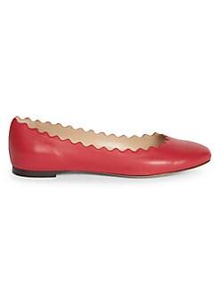c2b26895e80dc QUICK VIEW. Chloé. Lauren Leather Ballet Flats