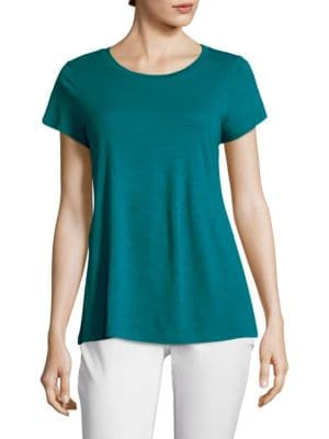 Image of Slubby Organic Cotton Tee