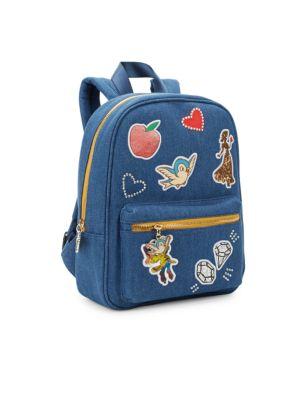 Snow White Denim Backpack
