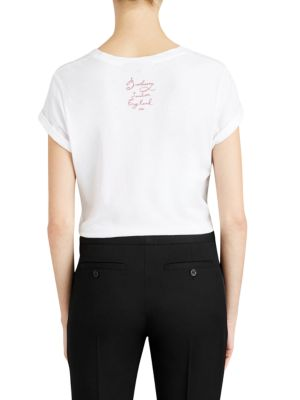 BURBERRY Cottons Copford Graphic Tee