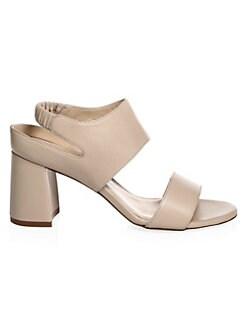 fdec72b349646 Stuart Weitzman Erica Elastic Strap Block-Heel Sandal