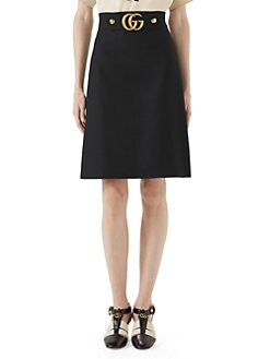 e1adfe9e0 Gucci. GG Logo Belt Mini Skirt