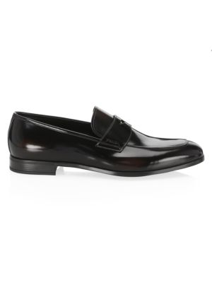 6ee933b5020 Prada - Saffiano Leather Driver Loafers - saks.com
