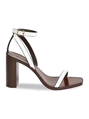 Loulou Sandals Saint Laurent Strap Leather Ankle XikZTPOu