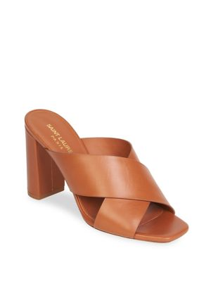 Lou Lou Brushed Slide Sandal, Dune