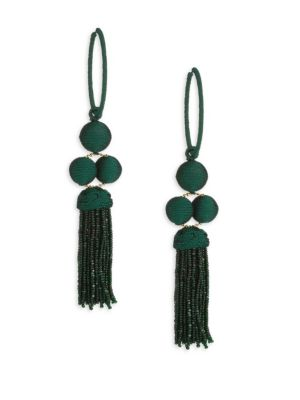 Cha Cha Tassel Earrings by Rebecca De Ravenel