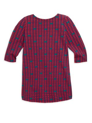 Toddlers Little Girls  Girls Holiday Party Whale Dress