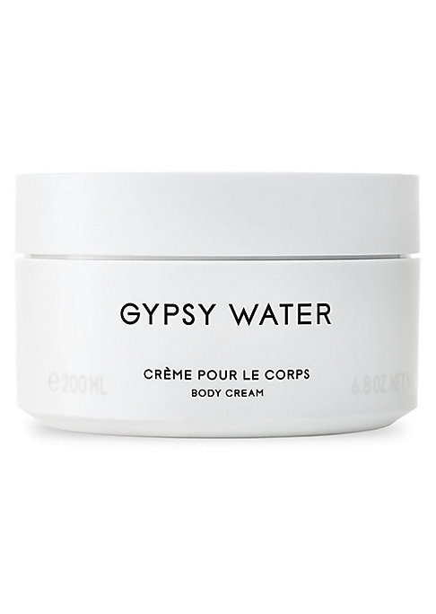 Image of A rich cream that nourishes the skin while releasing a captivating fragrance glamorizing the Romany lifestyle, based on a fascination for the myth. The scent of fresh soil, deep forests and campfires illustrate the dream of a free, colorful lifestyle clos