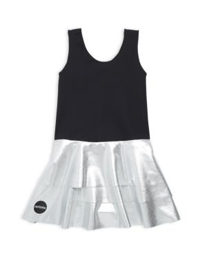 Toddlers  Little Girls TwoTone Skirtini