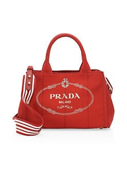 cd2924ac15ba QUICK VIEW. Prada. Small Canvas Shopper