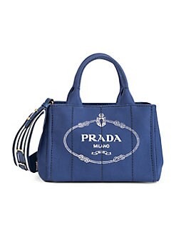 87cb01bac675d6 QUICK VIEW. Prada. Small Canvas Shopper