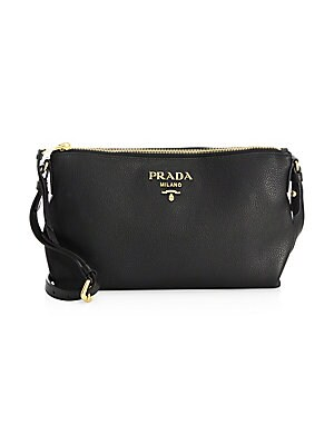 Prada Small Daino Leather Crossbody Bag