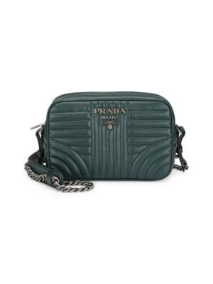 40668ded264 Prada Diagramme Camera Bag In Esmeraldo
