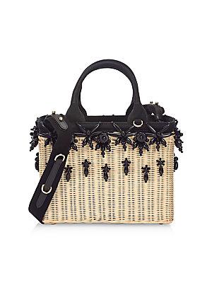 1517398d7722 Prada - Ricamo Basket Bag - saks.com