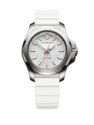 VICTORINOX SWISS ARMY I.N.O.X. Stainless Steel Analog Watch in White
