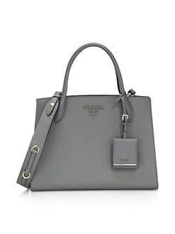 3af1aba9b7 QUICK VIEW. Prada. Large Monochrome Leather Tote