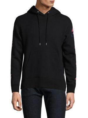 DIM MAK Classic Cotton Hoodie in Black