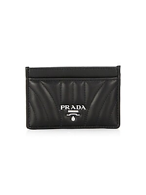 2d159209c89494 Prada - Quilted Leather Card Case