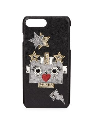 Robot Saffiano Leather Iphone&Reg; 7 Case in Multi
