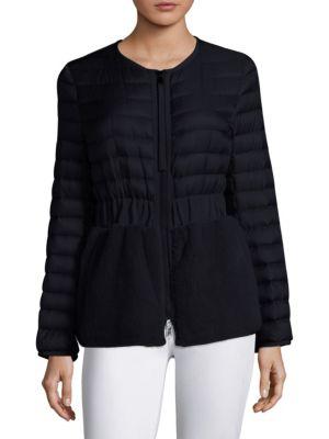 Hellolite Mink Fur Puffer Jacket by Moncler