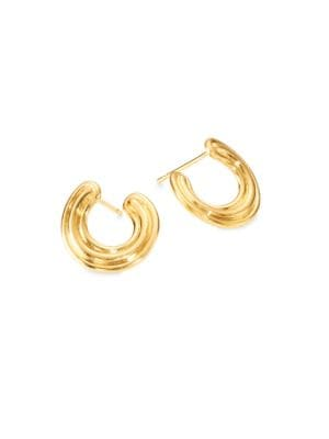 Jen Maia 18 K Yellow Gold Wrap Earrings by Melissa Kaye