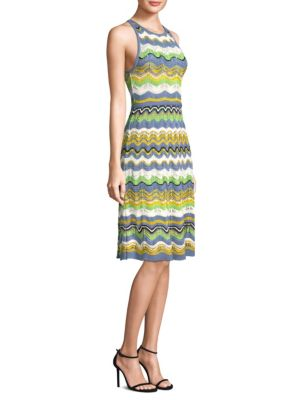 Wave Crochet Midi Dress by M Missoni