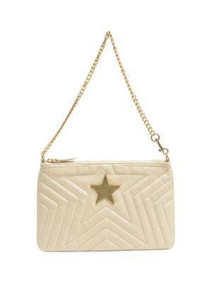 Faux Leather Star Handbag by Stella Mc Cartney