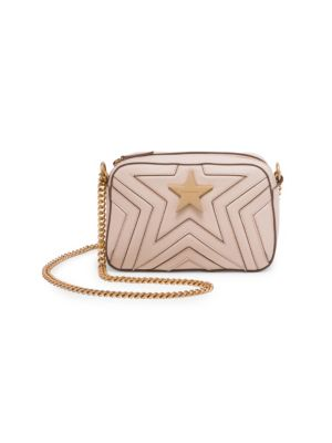 Faux Leather Mini Star Crossbody Bag by Stella Mc Cartney