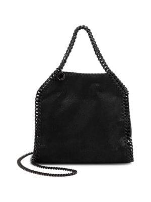 Shaggy Leather Shoulder Bag by Stella Mc Cartney