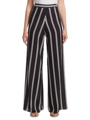 Athena Athena Super Flare Wide Leg Pants in Black from Oxygen Boutique