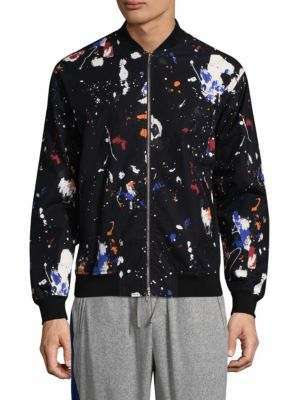 3.1 Phillip Lim  Painted Bomber Jacket