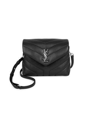 Toy Lou Lou Crossbody Flap Bag in Black
