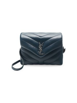 Toy Lou Lou Crossbody Flap Bag in Dark Turquoise