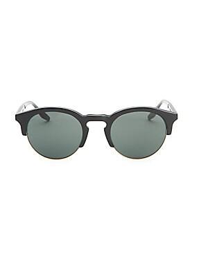 caca8307bd78d Barton Perreira - Griffin 49MM Clubmaster Sunglasses